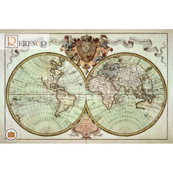 Фреска Renaissance Fresco Maps (12042)