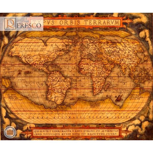 Фреска Renaissance Fresco Maps (12047)