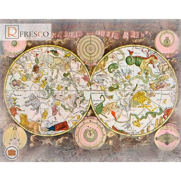 Фреска Renaissance Fresco Maps (12048)