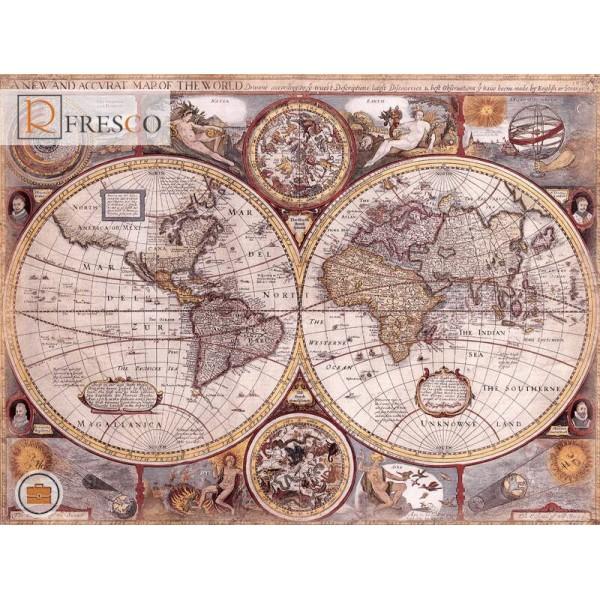 Фреска Renaissance Fresco Maps (12049)