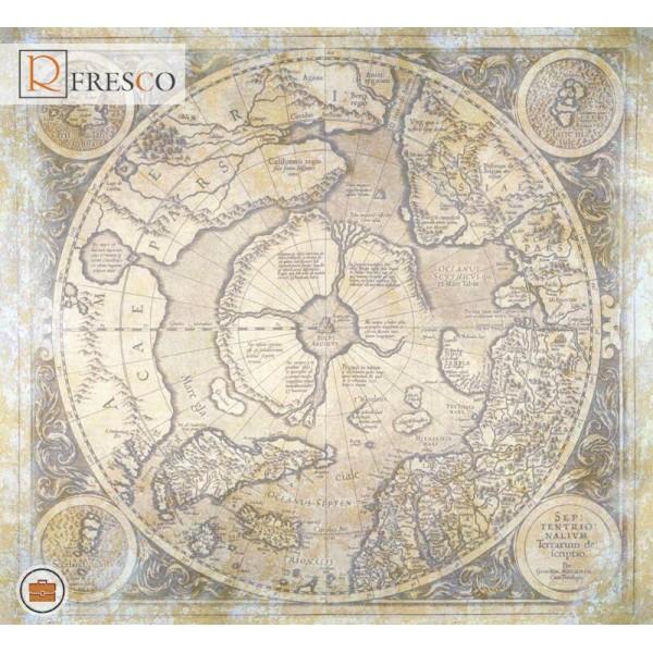 Фреска Renaissance Fresco Maps (12050)