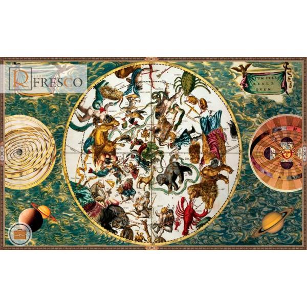 Фреска Renaissance Fresco Maps (12051)