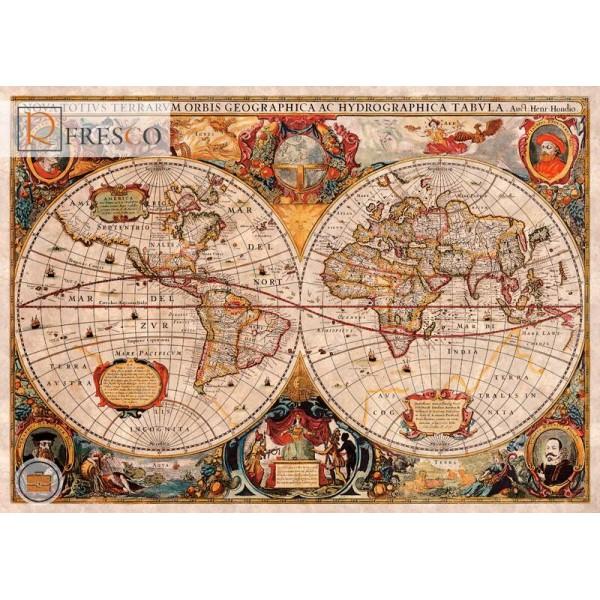 Фреска Renaissance Fresco Maps (12054)