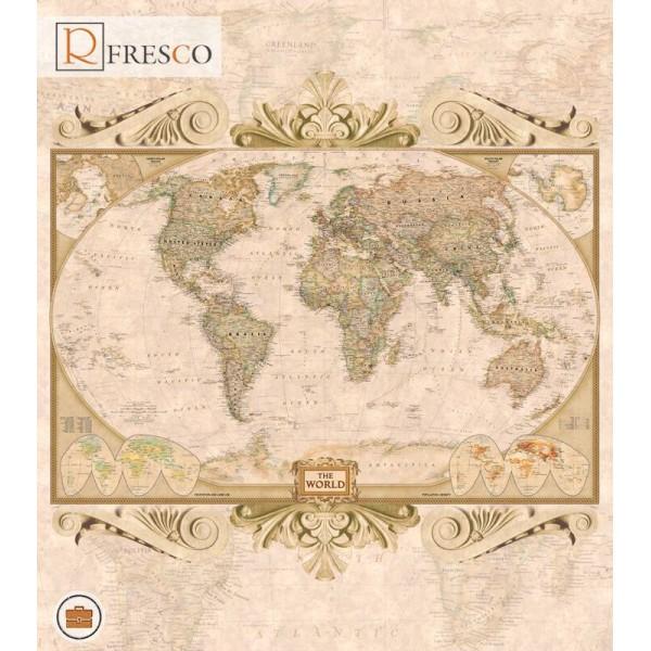 Фреска Renaissance Fresco Maps (12056)