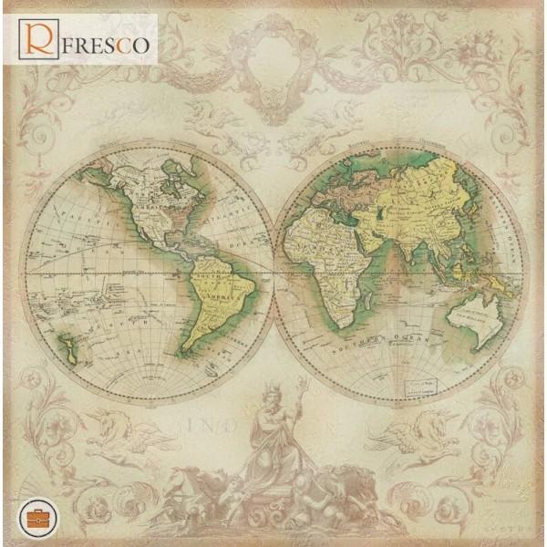 Фреска Renaissance Fresco Maps (12058)
