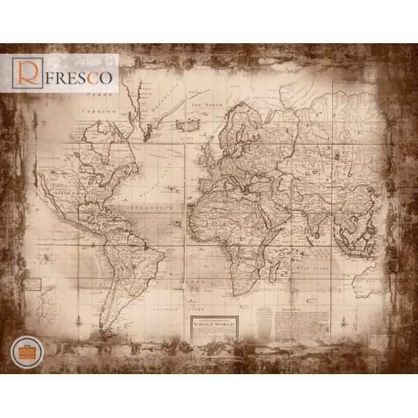 Фреска Renaissance Fresco Maps (12084)
