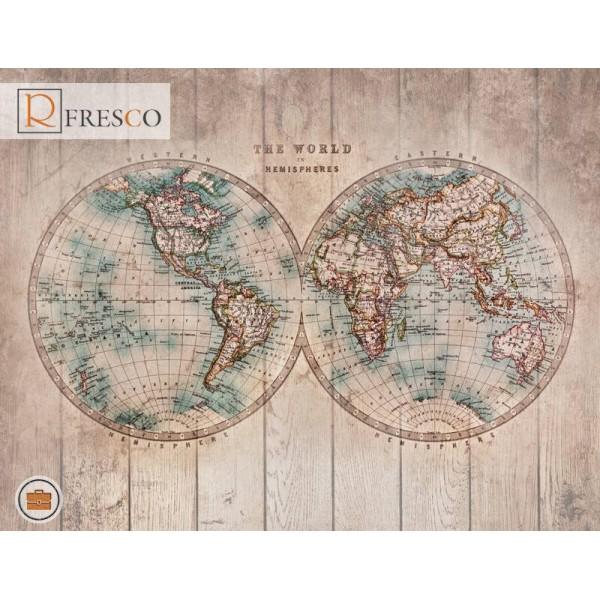 Фреска Renaissance Fresco Maps (12089)