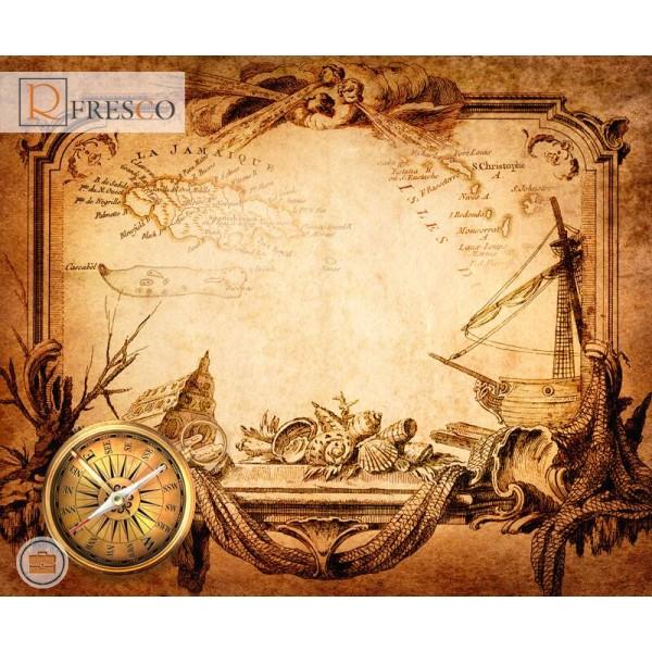 Фреска Renaissance Fresco Maps (12090)