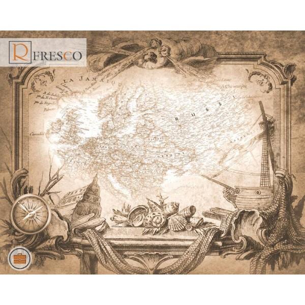 Фреска Renaissance Fresco Maps (12097)