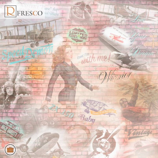 Фреска Renaissance Fresco Maps (ag0004)