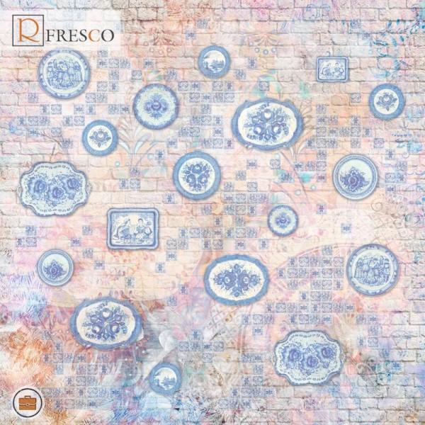 Фреска Renaissance Fresco Maps (ag0038)