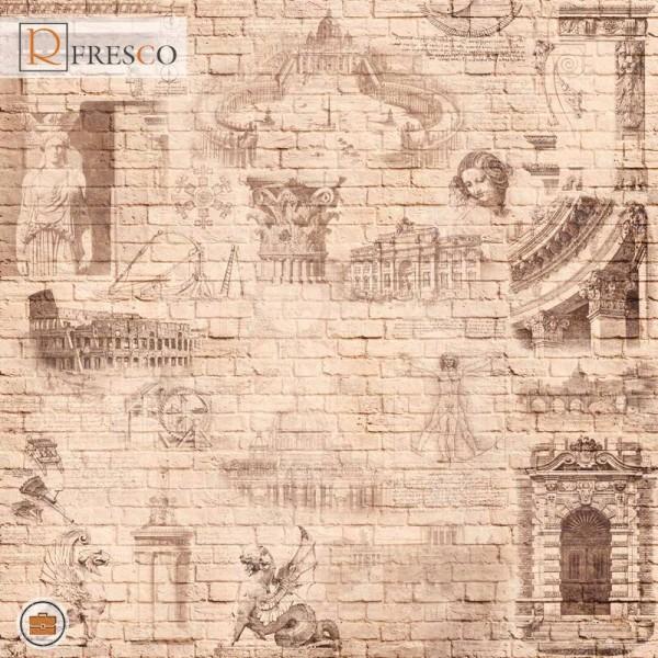 Фреска Renaissance Fresco Maps (ag0046)