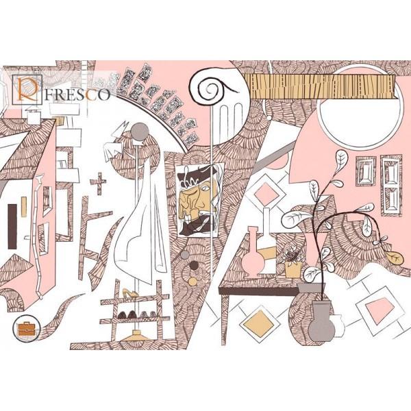 Фреска Renaissance Fresco Maps (ag0108)