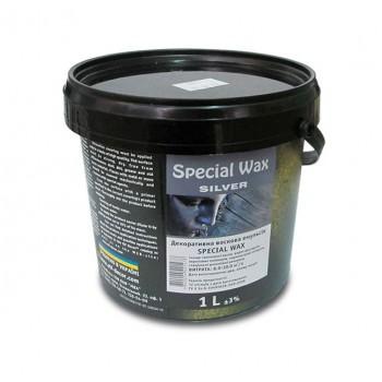 Воск для штукатурок Эльф Декор Special Wax Silver (1 л)