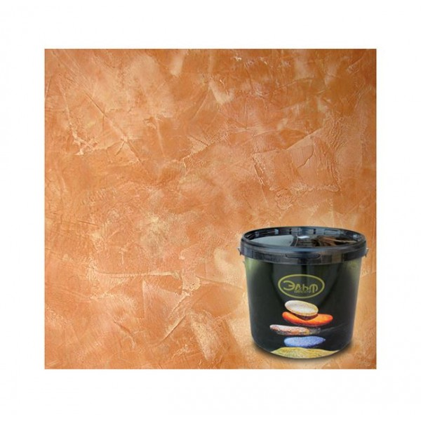 Декоративная штукатурка с эффектом мрамора Эльф Декор Marmorino Style (15 кг)