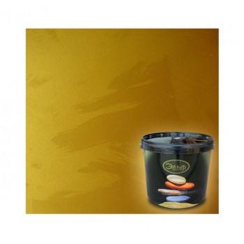 Декоративное покрытие с эффектом мокрого шёлка Эльф Декор Illusion Gold (5 кг)