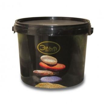 Декоративное покрытие с эффектом песчаных вихрей Эльф Декор Sahara Premium Silver (5 кг)