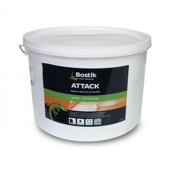 Клей для линолеума и других напольных покрытий Bostik Attack (10 л)