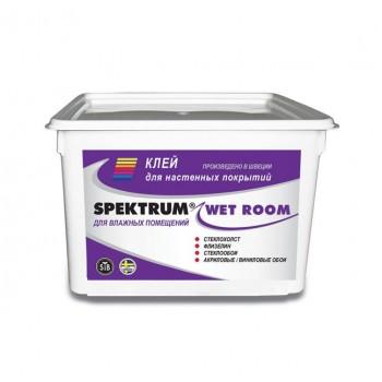 Клей для стеклообоев Spektrum Wet Room (5 л), для влажных помещений