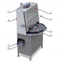 Фото - Машины для удаления косточек ягод - Машина для отделения косточек из сливы Spektrum КВ-450 до 450 кг/ч с порезкой плода