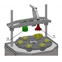 Машина для удаления сердцевины и резки яблока и груши КВ-850