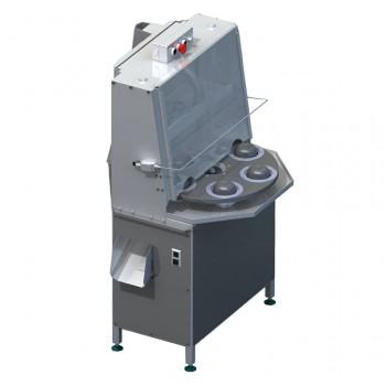 Промышленная машина для отделения сердцевины от яблока и его резки на дольки КВ-850