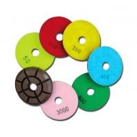 Пад полировальный Spektrum диаметр 80 мм h 12 мм №800 жесткий