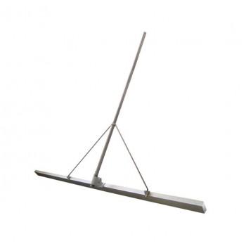 Гладилка строительная Spektrum ГС 1,5 м скребковая по бетону с рукоятью 3 м и удлинителем 3 м