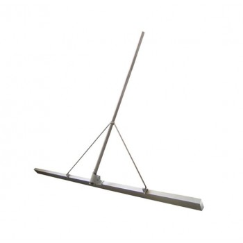 Гладилка строительная Spektrum ГС 2,5 м скребковая по бетону с рукоятью 3 м