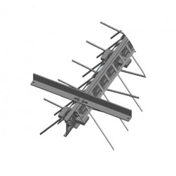 Деформационный шов в бетоне профиль Spektrum Бета-160 ремонтный
