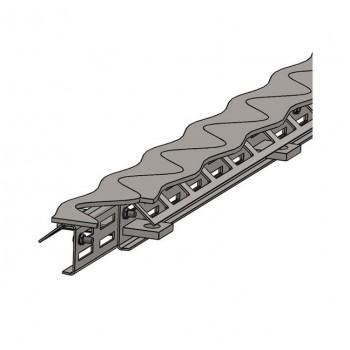 Профиль деформационных швов Синус - Бета - 115 (высота 115мм / длина 3м)
