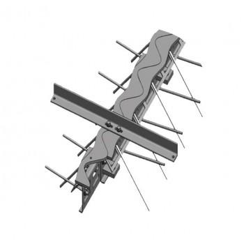 Ремонтный профиль Синус-75 (высота 75мм / длина 3м)