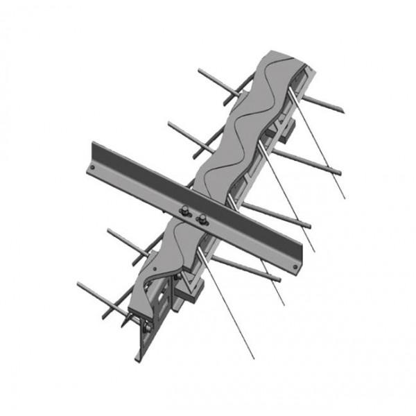 Фото - Профили для деформационных швов - Профили для ремонта деформационных швов Синус-165 ремонтные