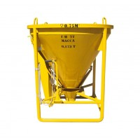Бункер для бетона ББМ-0,75 (0,75 м3)