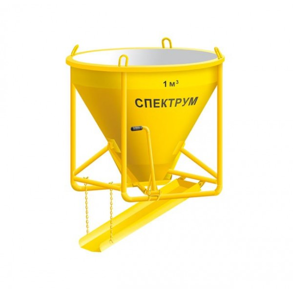 Бункер для бетона ББМЭ-1 (1 м3)