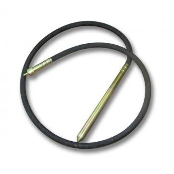 Гибкий вал для вибратора Spektrum ZIP-150 – длина 4 м, диаметр булавы 48 мм