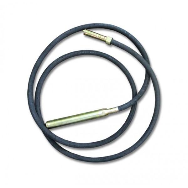 Гибкий вал для вибратора Spektrum ZIP-150 – длина 5 м, диаметр булавы 48 мм