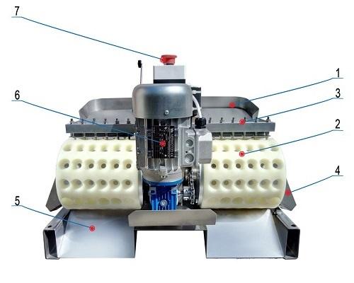 Обозначение косточковыбивной машины